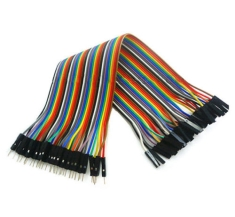 점퍼 케이블 40pcs 30cm M/F / 40pcs 30cm 1p-1p male to Female jumper wire Dupont cable for Arduino Breadboard